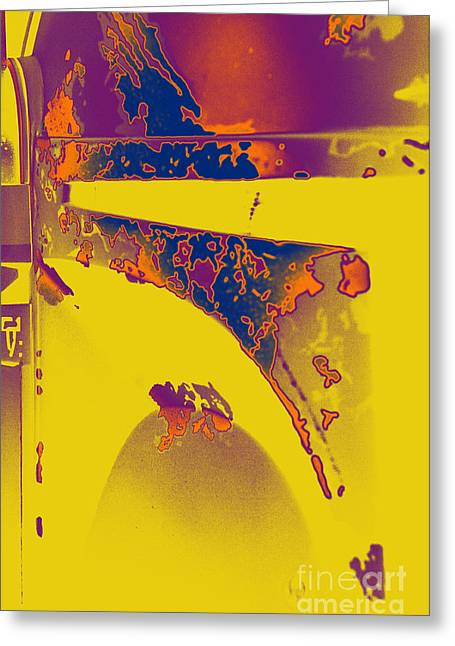 Jet Star Photographs Greeting Cards - Boba Fett Helmet 6 Greeting Card by Micah May