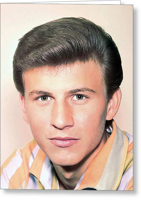 Bobby Greeting Cards - Bobby Rydell Greeting Card by Silver Screen