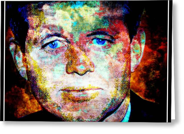 Bobby Kennedy Greeting Cards - Bobby Greeting Card by Wendie Busig-Kohn