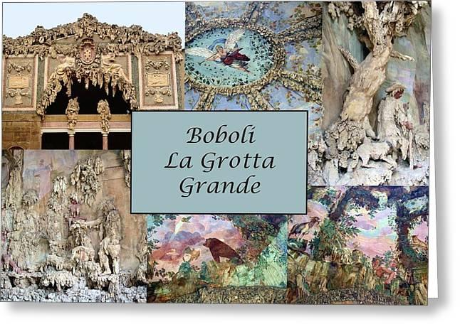 Boboli La Grotta Grande 1 Greeting Card by Ellen Henneke