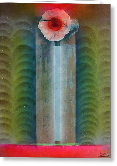Recently Sold -  - Jeremy Greeting Cards - Boddhisatvas Emerging Greeting Card by Jeremy Johnson