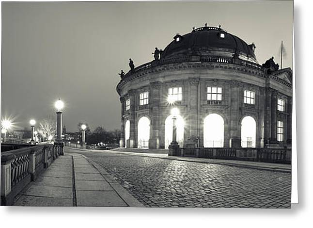 White River Scene Greeting Cards - Bode-museum On The Museum Island Greeting Card by Panoramic Images