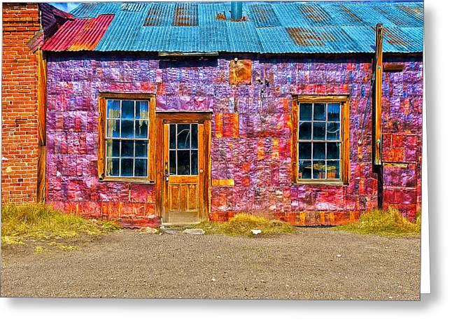Bodie Out House Greeting Cards - Bodie 17 Greeting Card by Richard J Cassato