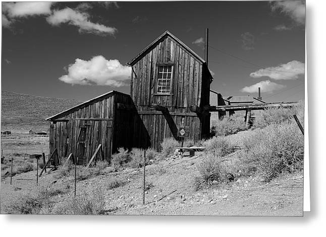 Bodie Out House Greeting Cards - Bodie 19 Greeting Card by Richard J Cassato