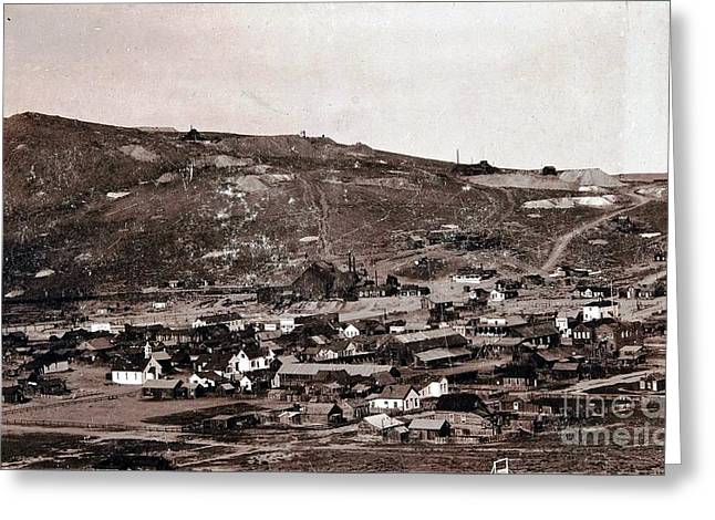 Sierra Gold Greeting Cards - Bodie California - Ghost Town  Greeting Card by Pg Reproductions