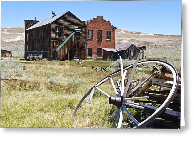 Old West Greeting Cards - Bodie Ghost Town 3 - Old West Greeting Card by Shane Kelly