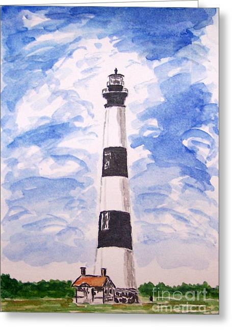 Kevin Croitz Greeting Cards - Bodie Island Lighthouse Greeting Card by Kevin Croitz