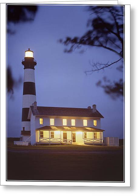 Evening Digital Greeting Cards - Bodie Light just After Dark Greeting Card by Mike McGlothlen