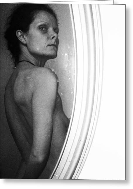 Recently Sold -  - Self-portrait Photographs Greeting Cards - Body Image 5 Greeting Card by Michele Monk