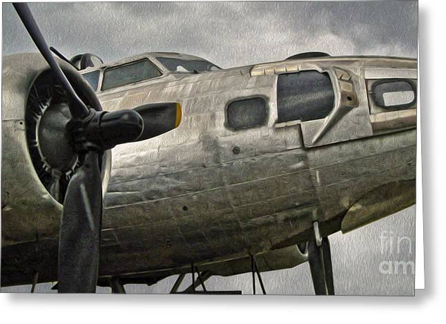 Boeing Flying Fortress B-17g  -  04 Greeting Card by Gregory Dyer