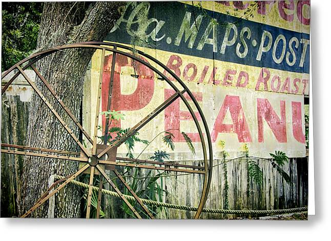 Bold Style Greeting Cards - Boiled Peanuts Greeting Card by Joan Carroll