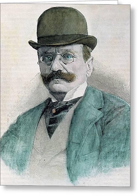 Boito, Arrigo (padua, 1842-milan, 1918 Greeting Card by Prisma Archivo