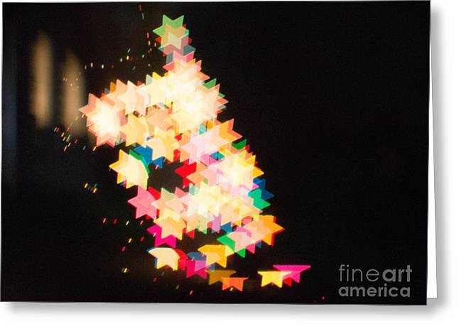 Bokeh Greeting Cards - Bokeh Magic 2 Greeting Card by Rebecca Cozart