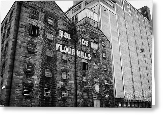 Flour Greeting Cards - Bolands Flour Mill Dublin Republic Of Ireland Greeting Card by Joe Fox