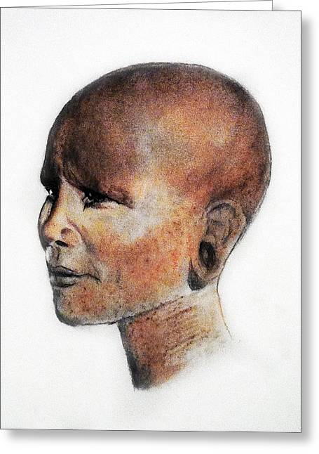 Black History Pastels Greeting Cards - Bold Greeting Card by Courtney James