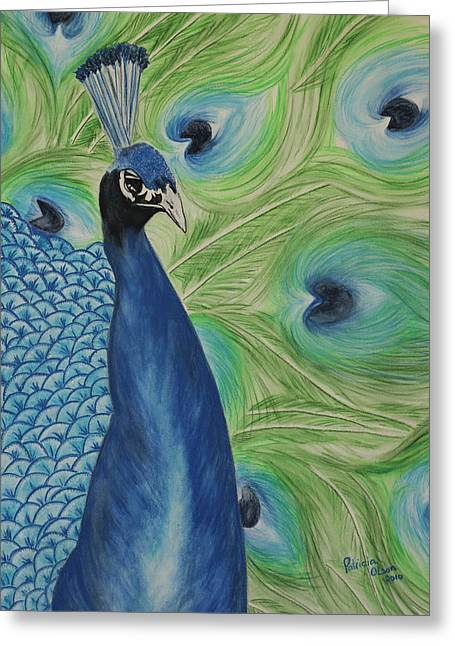 Coorful Greeting Cards - Boldly Beautiful Greeting Card by Patricia Olson