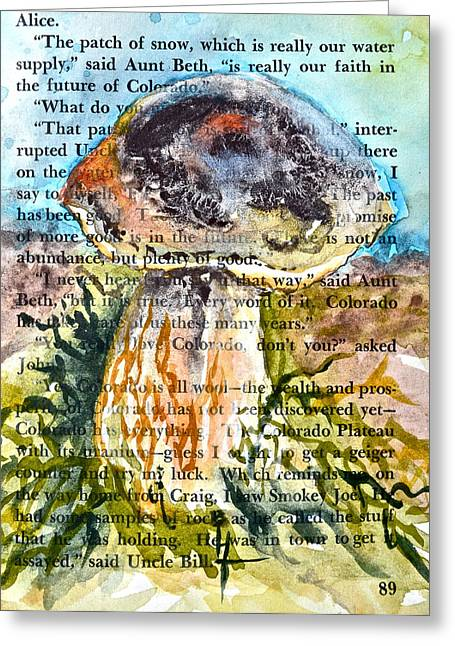 Boletus Edulis Close Up Greeting Card by Beverley Harper Tinsley