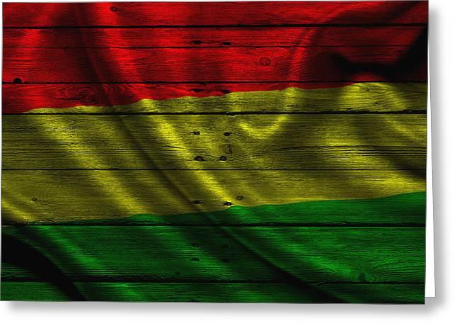 Continent Greeting Cards - Bolivia Greeting Card by Joe Hamilton