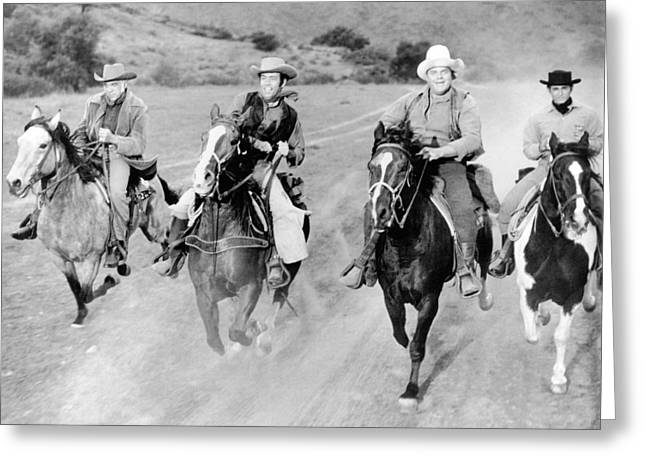 Michael Photographs Greeting Cards - Bonanza  Greeting Card by Silver Screen