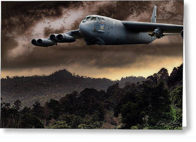 Boeing Greeting Cards - Bone Shaker Greeting Card by Peter Chilelli