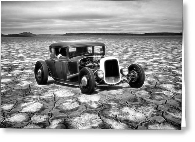Graffitti Coupe Greeting Cards - Bonneville Dreamin Greeting Card by Steve McKinzie