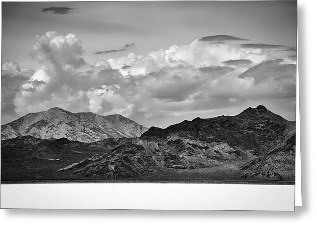 Bonneville Pictures Greeting Cards - Bonneville Salt Flat Greeting Card by Kurt Golgart