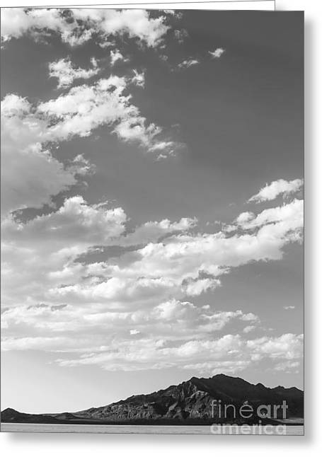Speed Week Greeting Cards - Bonneville Salt Flats Greeting Card by Holly Martin