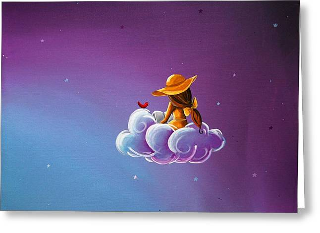 Storybook Greeting Cards - Book of Dreams Greeting Card by Cindy Thornton