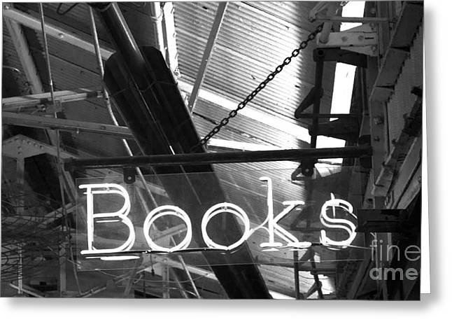 Chelsea Greeting Cards - Books Greeting Card by David Bearden