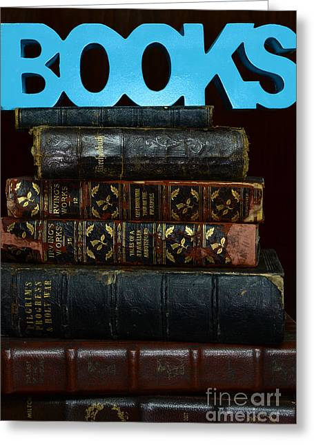 Rare Books Greeting Cards - Books Greeting Card by Paul Ward