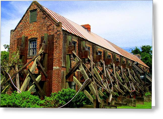 Boone Hall Greeting Cards - Boone Hall Plantaion Greeting Card by Randall Weidner