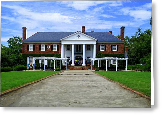 Boone Hall Greeting Cards - Boone Hall Greeting Card by Randall Weidner