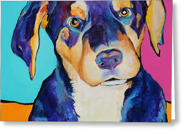 Boone Greeting Card by Pat Saunders-White
