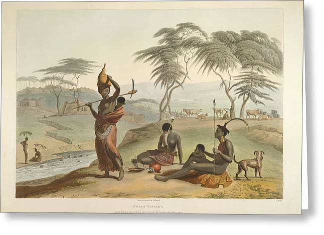 Boosh Wannah's Greeting Card by British Library