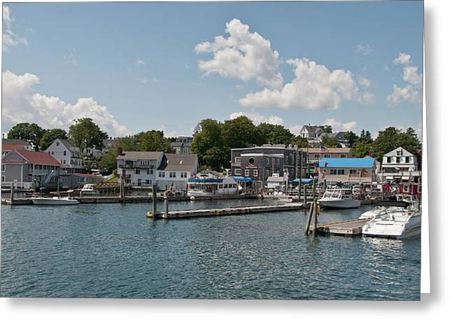 Guy Whiteley Greeting Cards - Boothbay Harbor 1242 Greeting Card by Guy Whiteley