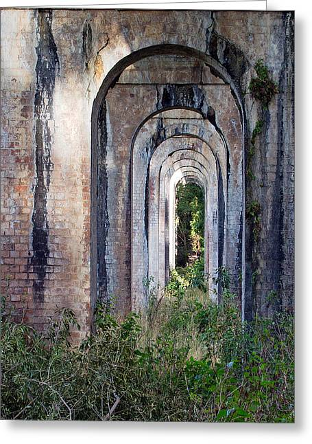 Prospects Greeting Cards - Boothtown Arches Greeting Card by Nicholas Blackwell