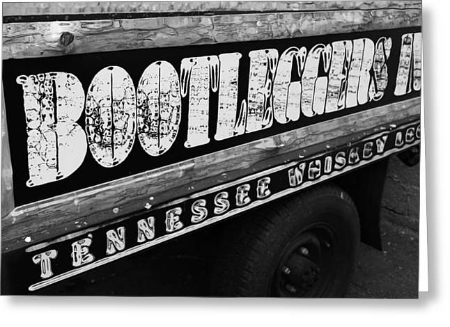 Moonshine Mixed Media Greeting Cards - Bootleggers Inn Nashville Tennessee Greeting Card by Dan Sproul