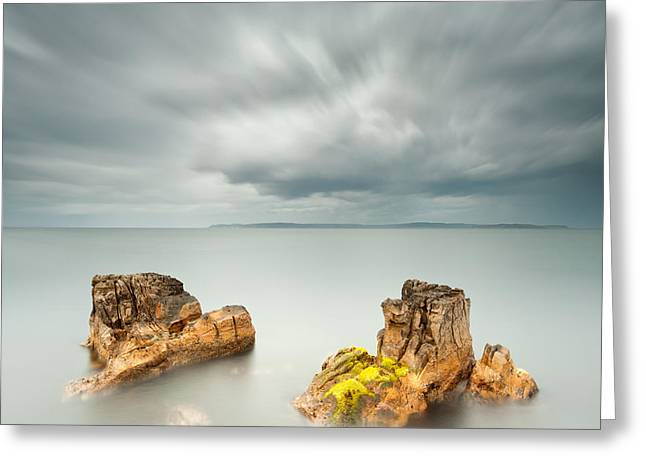 Ballycastle Greeting Cards - Boots Greeting Card by Pawel Klarecki