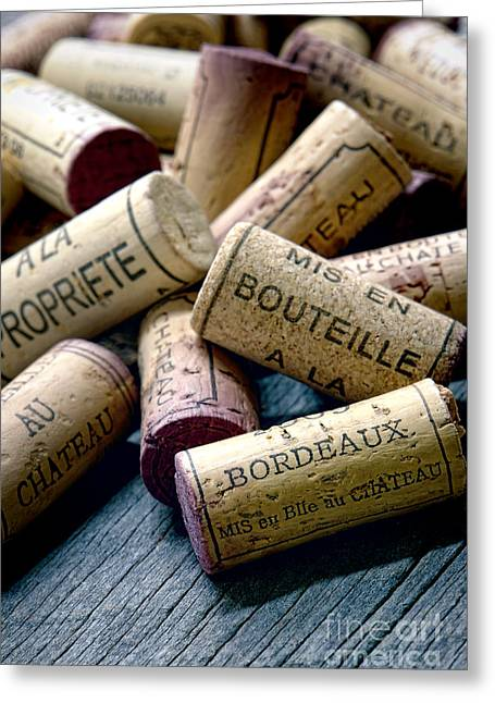 Cellar Greeting Cards - Bordeaux Greeting Card by Olivier Le Queinec