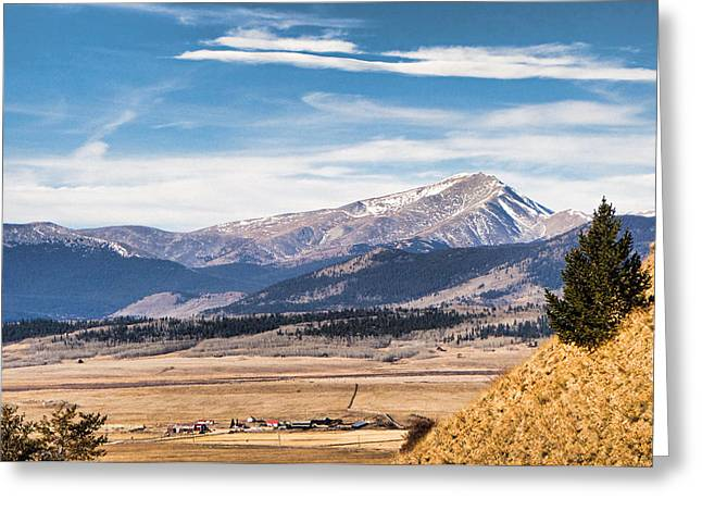 Boreas Greeting Cards - Boreas Mountain meets Valley Greeting Card by Robert Meyers-Lussier