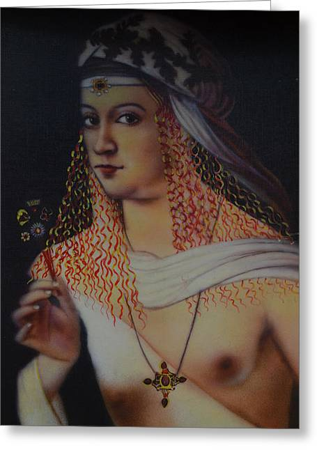 Borgia Greeting Cards - Borgia Of Italia Greeting Card by Babu