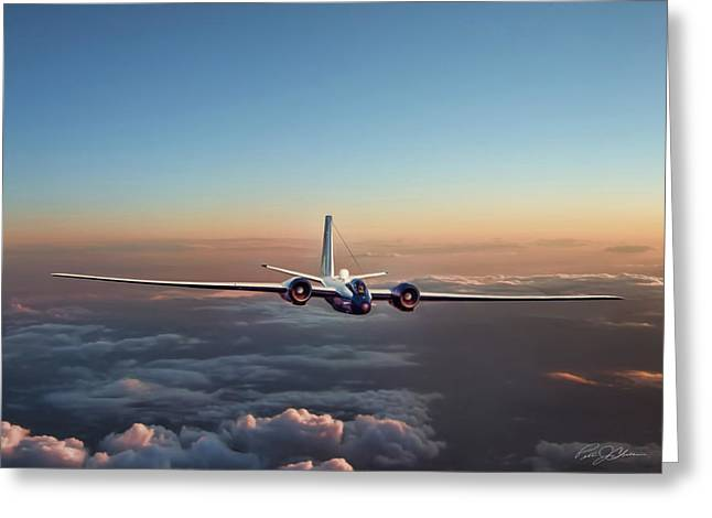 Altitude Greeting Cards - Born Again WB-57F Greeting Card by Peter Chilelli