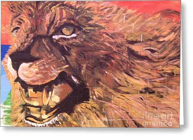 Lioness Greeting Cards - Born Free Greeting Card by Belinda Low