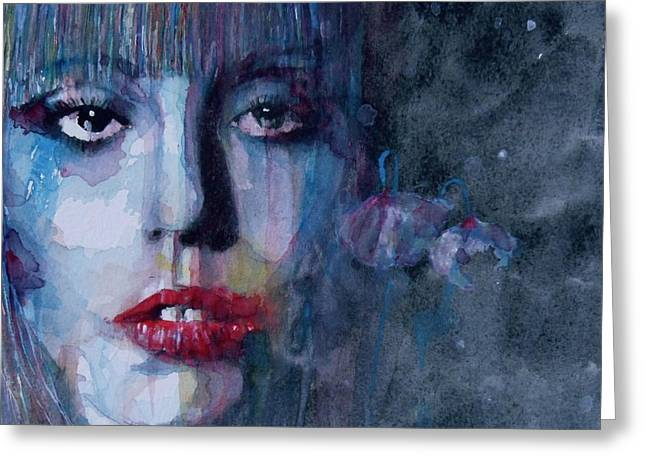 Singer Paintings Greeting Cards - Born This Way Greeting Card by Paul Lovering