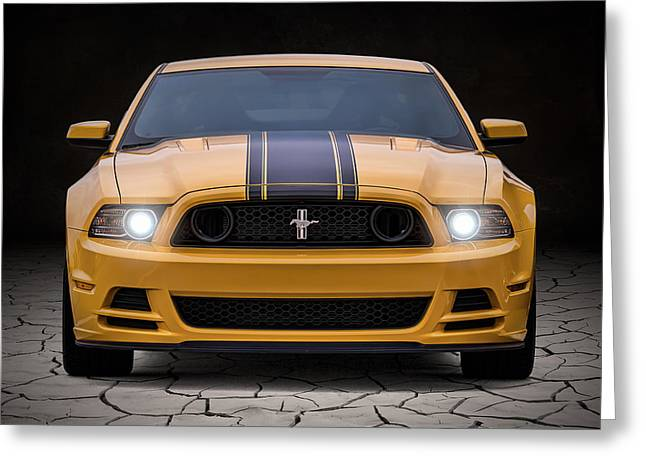 Sportscar Greeting Cards - Boss 302 Greeting Card by Douglas Pittman