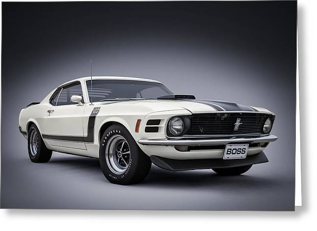 Ford Mustang Greeting Cards - Boss Greeting Card by Douglas Pittman