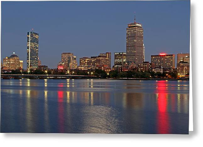 Urban Images Greeting Cards - Boston 2024 Greeting Card by Juergen Roth