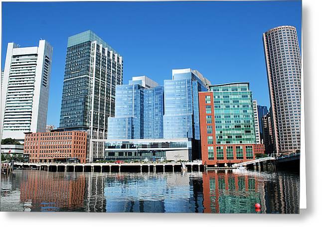 Boston Ma Greeting Cards - Boston Greeting Card by Adele Moscaritolo