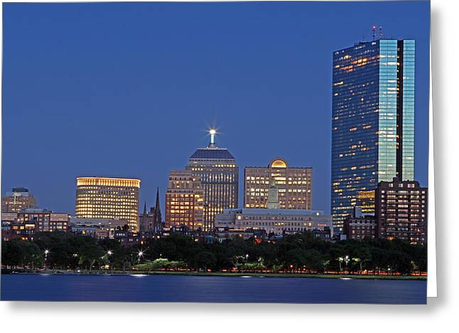 Boston Photos Greeting Cards - Boston Berkeley Building Greeting Card by Juergen Roth