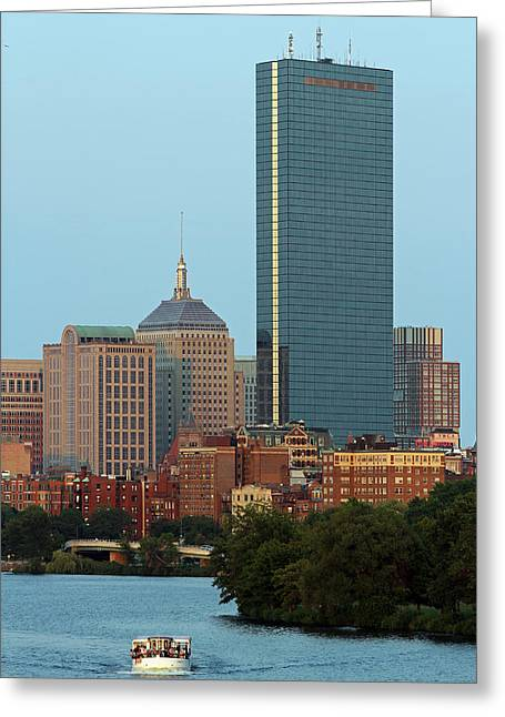Charles River Greeting Cards - Boston Charles River Family Fun Greeting Card by Juergen Roth